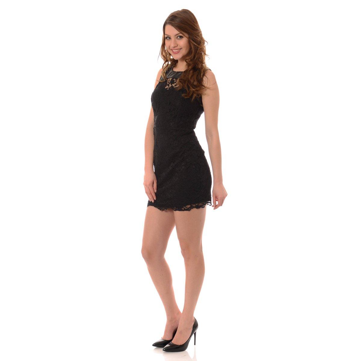 adb11bb84d Damska Sukienka Koronkowa Jimena Mała Czarna Brendipl
