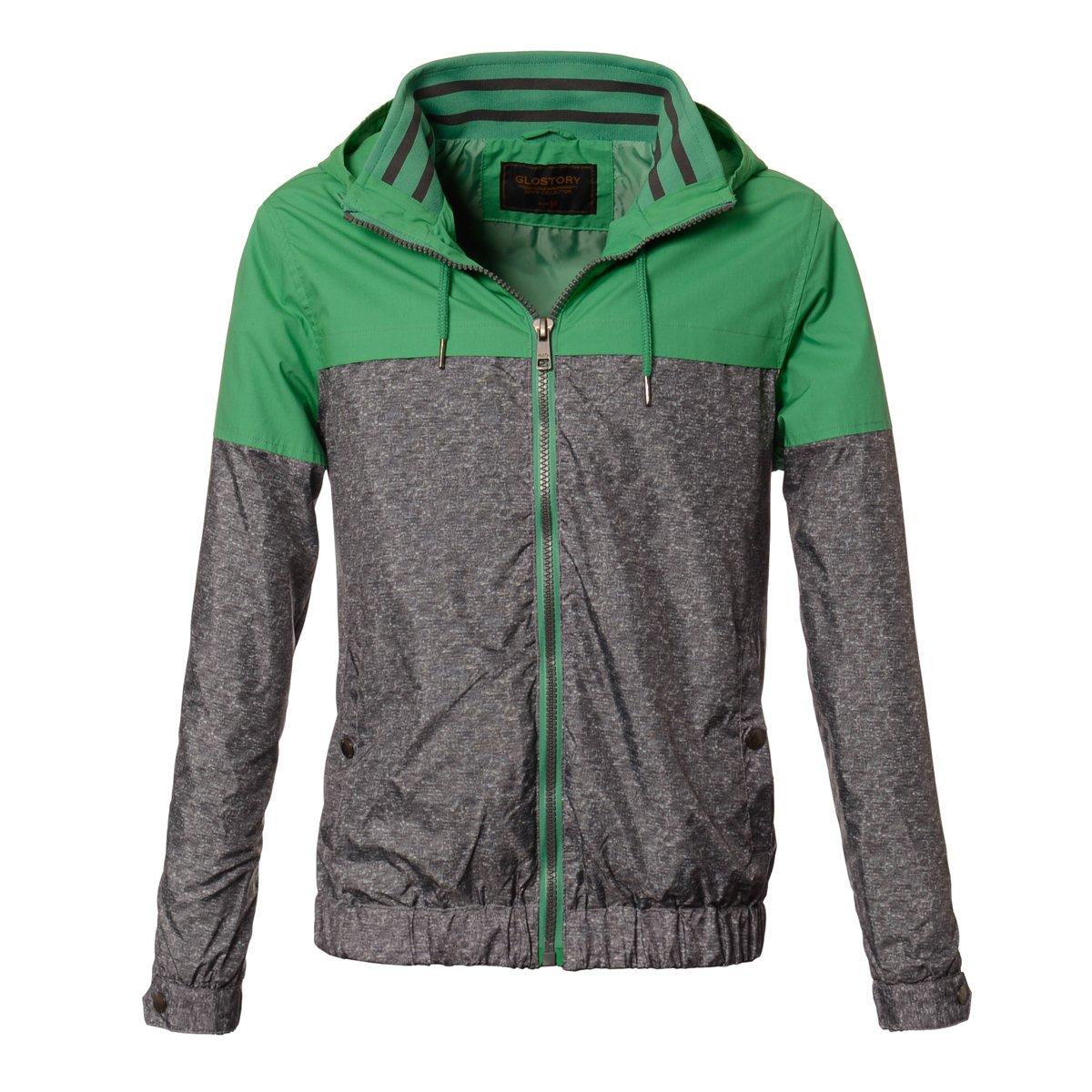 kurtki sportowe zielono szare meskie