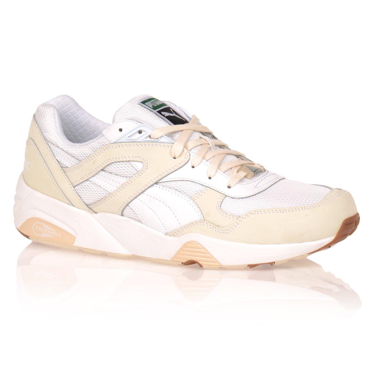 Męskie Sportowe Buty Puma Trinomic R698 White