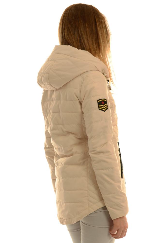 Kurtka jesienna - Kurtka jesienna marki H&M. Ciepła z wiązaniem wysokie zapięcie chroni od wiatru.