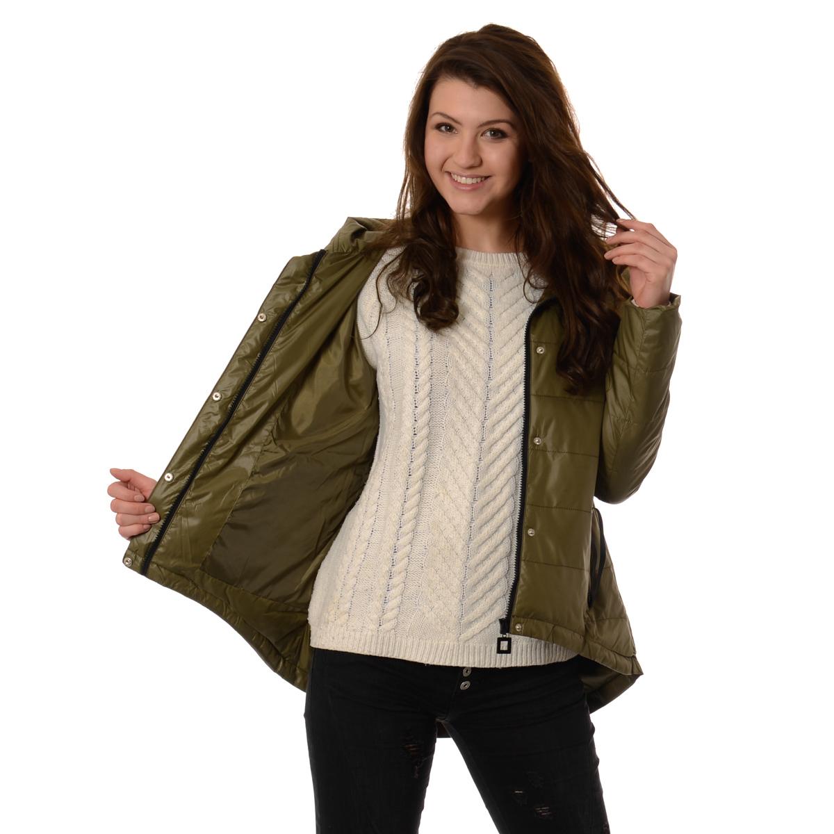 Damska kurtka jesienna # parka # cotton _3xl (46)